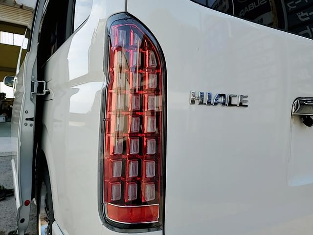 SロングワイドDX GLパッケージ キャンピングカー 9人乗り サブバッテリー 走行充電 コンバーター インバーター ナビ フルセグ バックカメラ フリップダウンモニター ETC パワースライドドア シンク 冷蔵庫(56枚目)