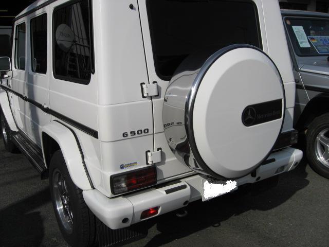 メルセデス・ベンツ M・ベンツ G500 ロング AMG18AW HDDナビ