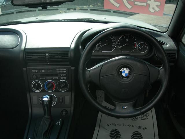 BMW BMW Z3ロードスター 2.2i 黒革シート 純正アルミ ETC キーレス CD