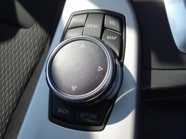 純正ナビコントローラー「iDrive」搭載!タッチパッドも搭載しているので手書き入力も可能です!