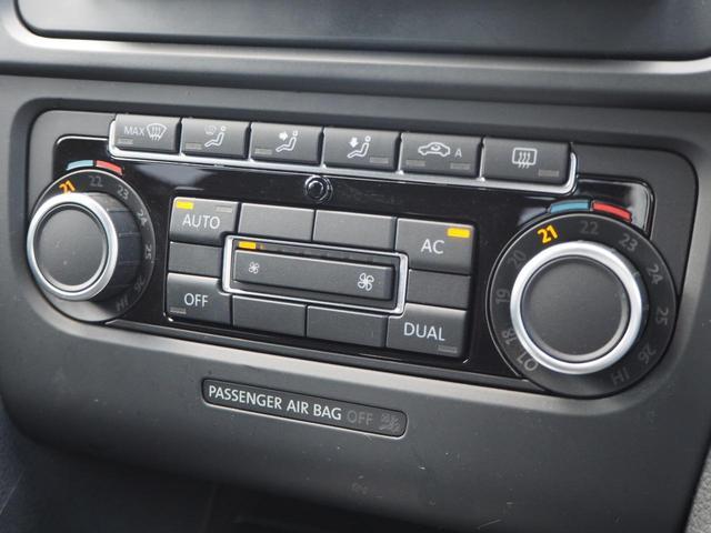 TSIコンフォートラインプレミアムエディション 特別仕様車 社外ナビTV バックカメラ アルカンターラコンビシート デュアルオートエアコン レインセンサーワイパー ルーフレール Bluetooth 純正16インチAW バイキセノン キーレス ETC(13枚目)