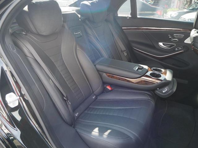 S550プラグインハイブリッドロング 禁煙車 レーダーセーフティーパッケージ サンルーフ 純正ナビ 全方位カメラ コーナーセンサー 黒革シート シートヒーター シートベンチレーター PWシート PWトランク ACC エアサス ETC(15枚目)