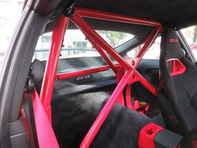 911GT3 RS 6MT 新車並行車 左ハンドル 軽量バケットシート ロベルタフロントリフティング カーボンリヤスポイラー スポーツクロノ 純正19インチセンターロックアルミホイール(40枚目)