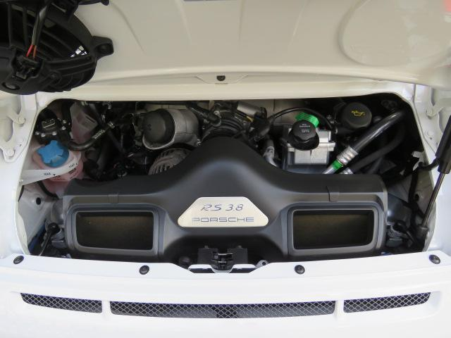 911GT3 RS 6MT 新車並行車 左ハンドル 軽量バケットシート ロベルタフロントリフティング カーボンリヤスポイラー スポーツクロノ 純正19インチセンターロックアルミホイール(41枚目)