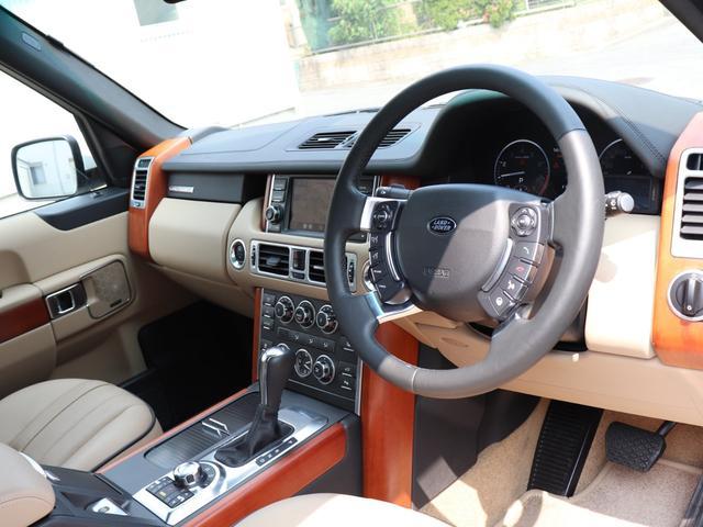 ランドローバー レンジローバーヴォーグ 5.0 V8 リヤシートリクライニング