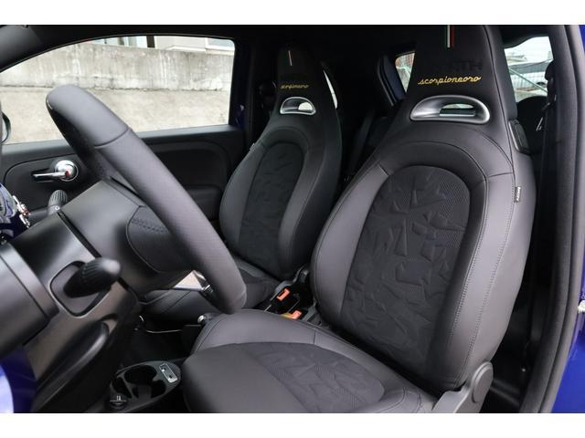 スコルピオーネオーロ 新車並行 5MT LHD 正規未導入カラー AplleCarPlay Beats480Wサウンドシステム 国内未登録(45枚目)