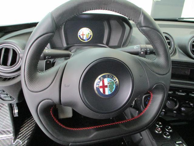 アルファロメオ アルファロメオ 4C ベースグレード スポーツ・レザーPKG ディーラー車