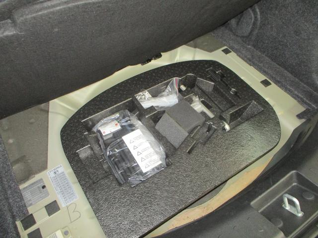 エアポンプなどの車載工具等は全部そろっています。