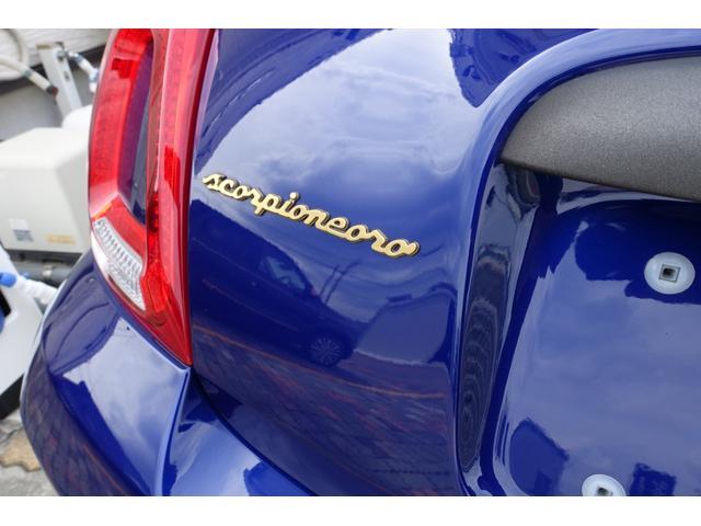 スコルピオーネオーロ 日本未導入カーボンパッケージ&ボディーカラー装着 Apple car play オートライトオートワイパー 自社本国オーダー車両(24枚目)