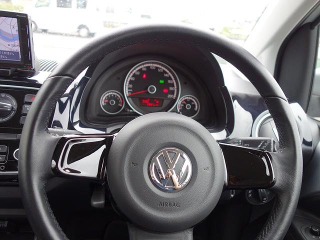 フォルクスワーゲン VW アップ! ハイ アップ!2016年モデル 純正ナビ
