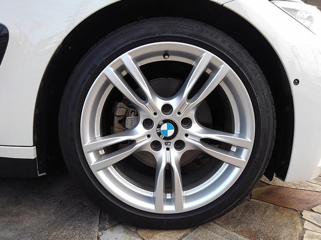 Mパフォーマンス純正18AW&BSポテンザRFT・タイヤ タイヤ溝も8部位あります。