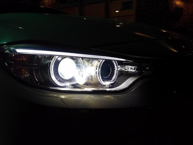 LEDライトリング内蔵HIDシステム☆