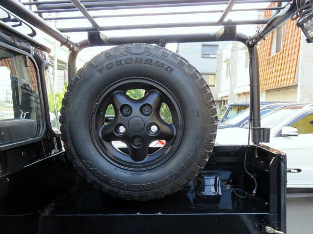 ブラック ピックアップ ディーゼル ディーラー車 18アルミ(18枚目)