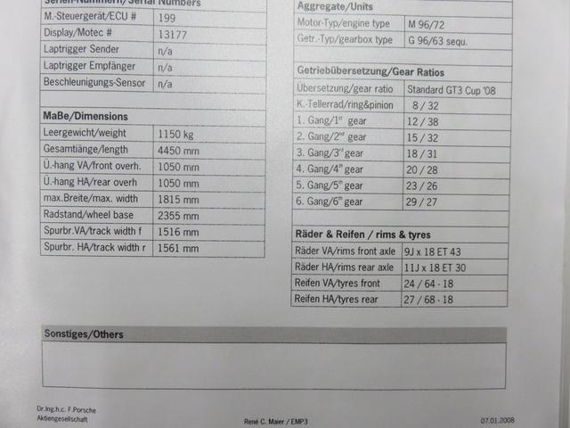 911GT3 Cup コックス物(10枚目)