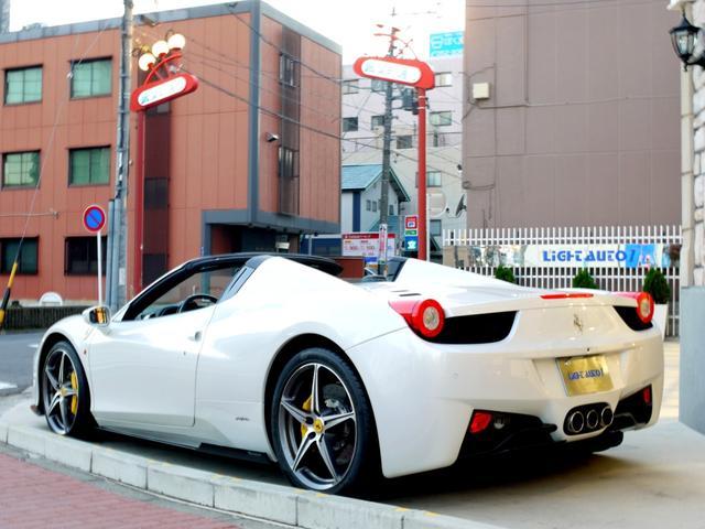 「フェラーリ」「フェラーリ 458スパイダー」「オープンカー」「愛知県」の中古車4