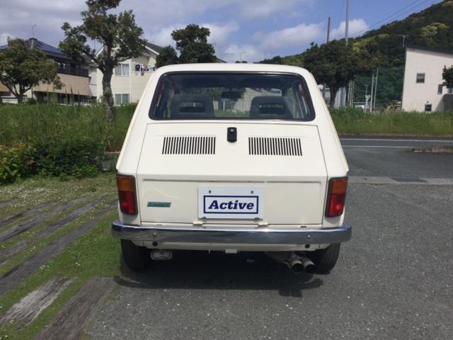 「フィアット」「フィアット 126」「コンパクトカー」「愛知県」の中古車5