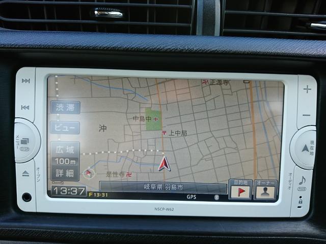 トヨタ アクア S LEDヘッド 禁煙 プッシュS 純ナビ&アルミ Bカメラ