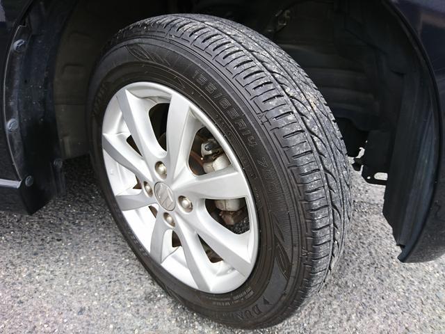 右前タイヤ ダンロップ溝たっぷりでガンガン乗っていただけます。