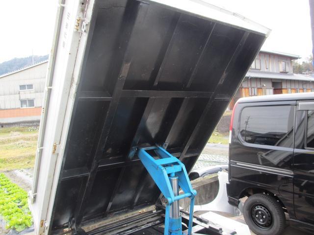 PTOダンプ 4WD 5MT ワンオーナー(16枚目)