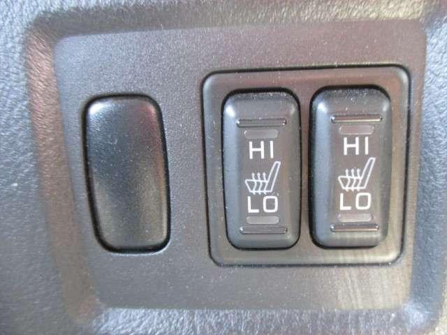 運転席・助手席シートヒーター