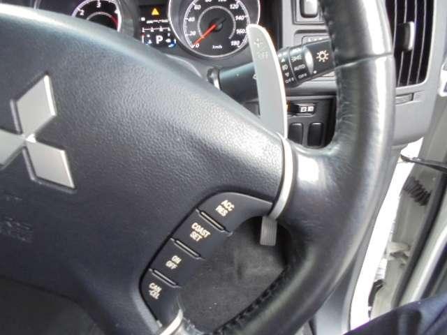 高速道路で便利なクルーズコントロール装備