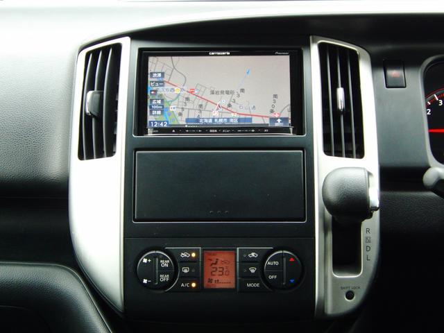 パイオニア製メモリーナビ搭載。DVD・地デジ(フルセグ)視聴、Bluetooth、バックカメラ付き