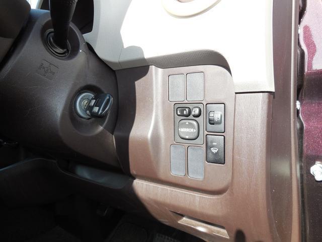 右側のスイッチ類もまとまっています。