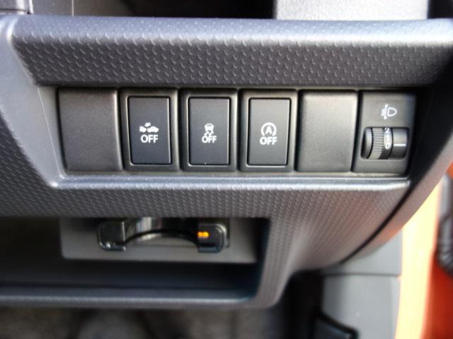 スズキ ハスラー G レーダーブレーキサポート 4WD