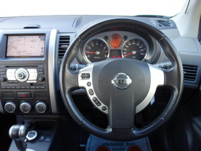 日産 エクストレイル 20X 4WD 純正HDDナビ バックカメラ