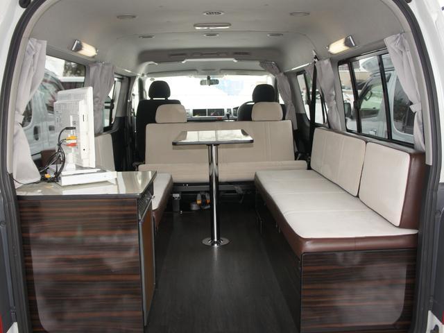 トヨタ ハイエースワゴン GL 東和モータース製ツエルト 冷蔵庫 4WD