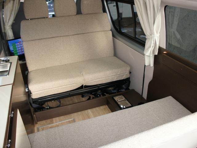 トヨタ レジアスエースバン キャンピング 3.0DTシルトクレーテ FFヒーター4WD