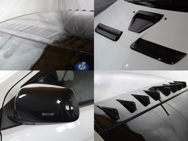 ラリーアート4WD 車高調 HKSマフラー ブースト計(8枚目)