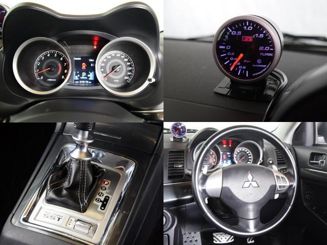 ラリーアート4WD 車高調 HKSマフラー ブースト計(13枚目)