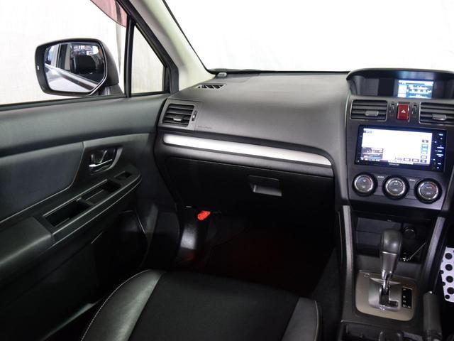 2.0i-Sアイサイト 4WD 1年保証 本州仕入 夏冬タイヤ付 プッシュスタート パドルシフト SDナビ フルセグTV DVD再生 Bluetooth対応 ETC バックカメラ ハーフレザー HID 社外AW(15枚目)
