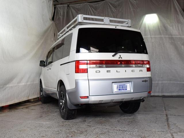シャモニー 4WD 7人乗 1年保証 夏冬タイヤ 両側パワスラ 後席モニター HDDナビ DVD再生 ETC TV シートヒーター タナベリフトアップサス 純正ルーフキャリア 新品夏タイヤ 社外AW HID(33枚目)