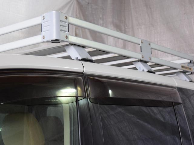 シャモニー 4WD 7人乗 1年保証 夏冬タイヤ 両側パワスラ 後席モニター HDDナビ DVD再生 ETC TV シートヒーター タナベリフトアップサス 純正ルーフキャリア 新品夏タイヤ 社外AW HID(35枚目)