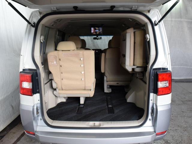 シャモニー 4WD 7人乗 1年保証 夏冬タイヤ 両側パワスラ 後席モニター HDDナビ DVD再生 ETC TV シートヒーター タナベリフトアップサス 純正ルーフキャリア 新品夏タイヤ 社外AW HID(64枚目)