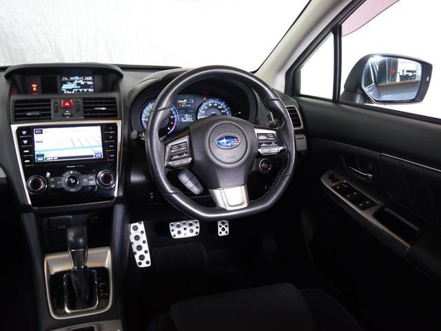 1.6GT-Sアイサイト 4WD 1年保証 夏冬タイヤ付 プッシュスタート パドルシフト フルセグTV SDナビ DVD再生 バックカメラ ETC Bluetooth対応 HID LEDアクセサリーライナー エンジンスターター(42枚目)