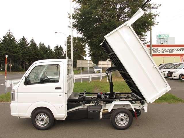 DX ダンプ 4WD 寒冷地仕様 マニュアル5速 エアコン パワステ(5枚目)