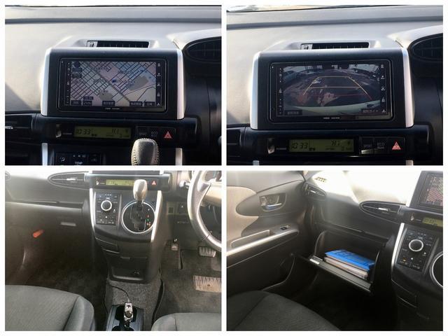 トヨタ ウィッシュ 1.8S4WD 1年保証付 モデリスタエアロ 純正HDDナビ