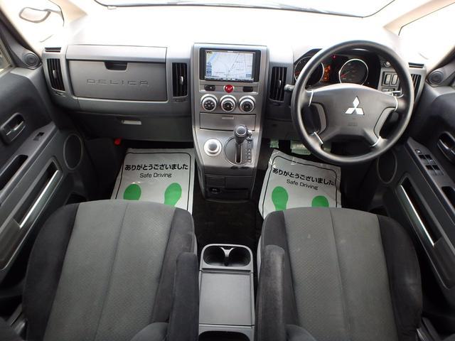 M VSC 左パワードア DVD再生フルセグHDDナビ HID 8人乗り 4WD(5枚目)