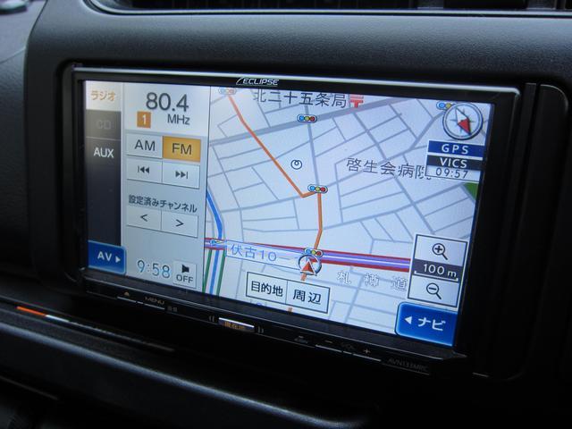 トヨタ サクシード UL 4ナンバー 社外メモリーナビ 社外アルミ