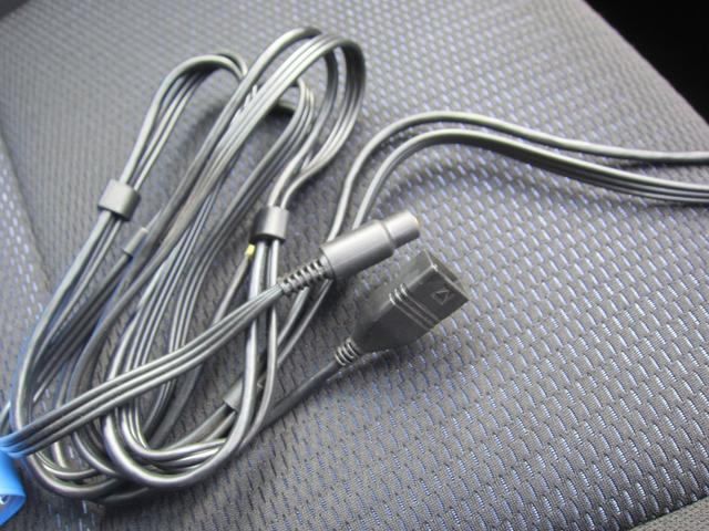 ナビにUSBやAUXで外部機器に接続可能