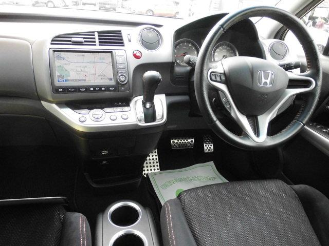 ホンダ ストリーム RSZ HDDナビパッケージ 4WD 純正HDDナビ ETC