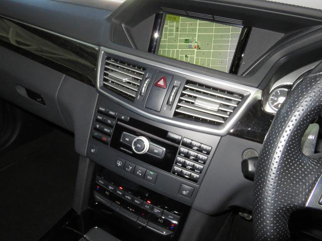 E63 AMG V8 ツインターボ 純正HDDナビ フルセグ(18枚目)