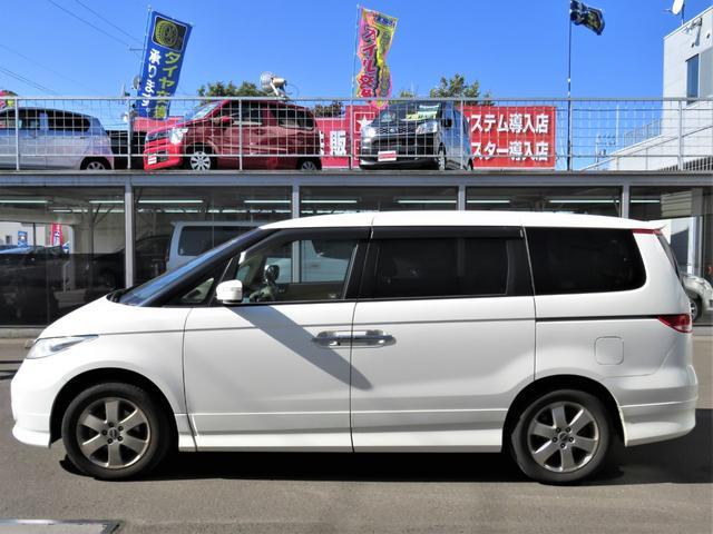 VXエアロパッケージ 4WD 後席モニター・Wパワスラ・ナビ・バックカメラ・エアロ・革シート・アルミホイール・ミニバン・8名乗り・エアコン・オーディオ付・DVD・クルーズコントロール・AT(2枚目)