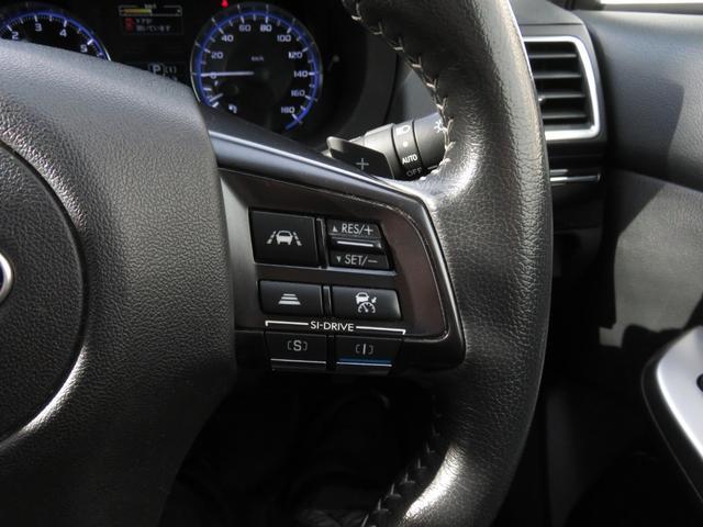 1.6GTアイサイト 4WD 衝突軽減ブレーキ・メモリーナビ・バックカメラ・横滑り防止・レーンモニタリング・レーダークルコン・ETC・アイドリングストップ・パドルシフト・スマートキー・プッシュスタート・SIドライブ・CVT(16枚目)