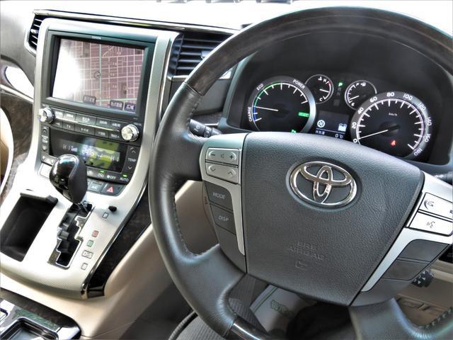 V 4WD 純正HDDナビ・地デジ・アラウンドビューモニター・DVD/CD/Bluetooth・Wパワスラ・パワーゲート・HIDライト・ビルトETC・クルコン・7人乗り・AFS・スマートキー・パワーシート(10枚目)
