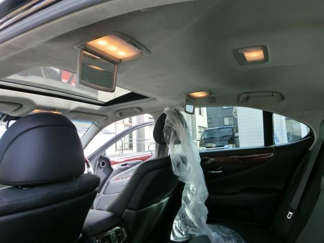 レクサス LS LS460 バージョンC Iパケ4WD黒革エアシートSR
