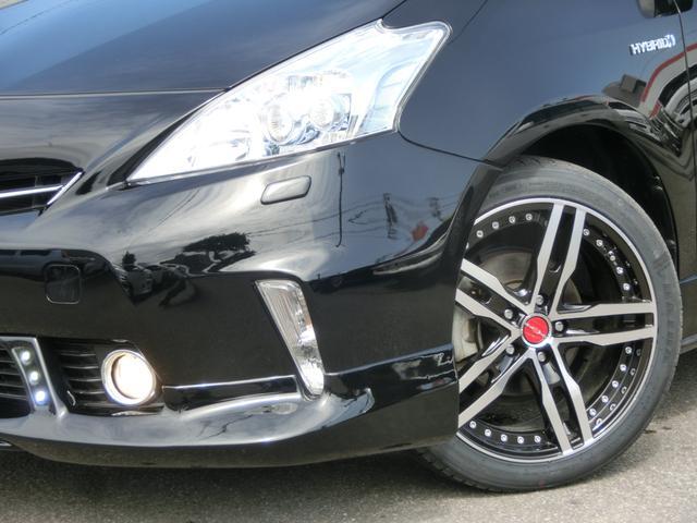 トヨタ プリウスアルファ S 18インチAW新品 純正ナビ TV Bモニター ETC